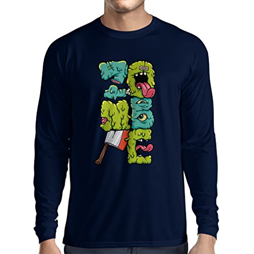 long-sleeve-t-shirt-men-zombie-gear-zombie-gifts-clothing-small-blue-multi-color