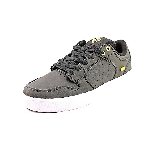 Supra Lc Vaider Low Top Chaussures pour hommes Black-Gold-White