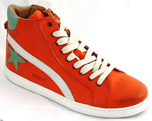Bisgaard Unisex-Kinder Schnürschuhe High-Top Rot (orange)