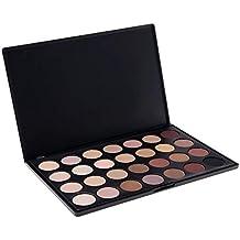 PhantomSky 28 Colores Sombra De Ojos Paleta de Maquillaje Cosmética - Perfecto para Uso Profesional y Diario