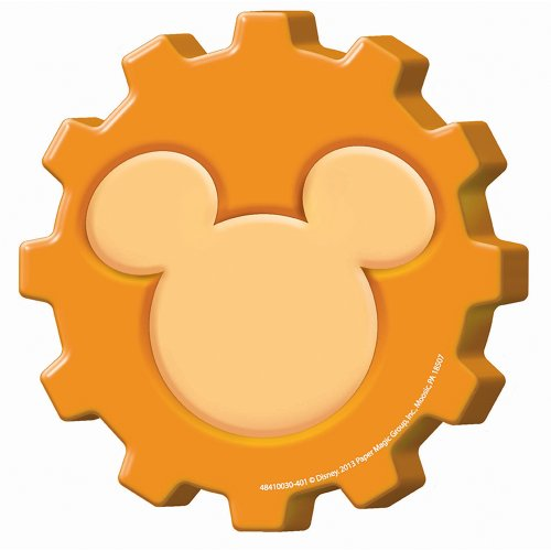 Eureka Mickey Mouse Clubhouse Gears Paper Cut Outs