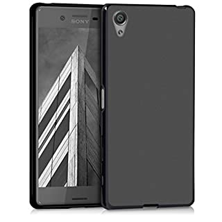 kwmobile Sony Xperia X Hülle - Handyhülle für Sony Xperia X - Handy Case in Schwarz matt