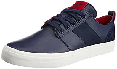 adidas Originals Men's Army Tr Lo Collegiate Navy Leather Sneakers - 6 UK