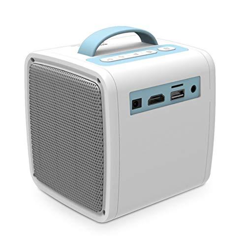 CHOULI Tragbarer drahtloser WiFi-Display-Dongle, Bildschirmspiegelung, Projektor-Ethernet-Anschluss, weiß und blau (Port-spiegelung)