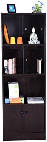 DeckUp Cove Book Shelf/Display Unit (Dark Wenge, Matte Fini