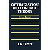Optimization in Economic Theory by Avinash K. Dixit (1990-09-13)