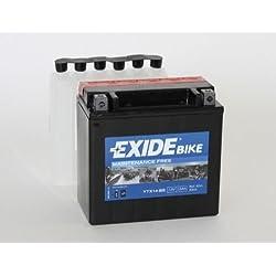 Exide/Fulmen YTX14-BS Batterie de moto - avec Acide