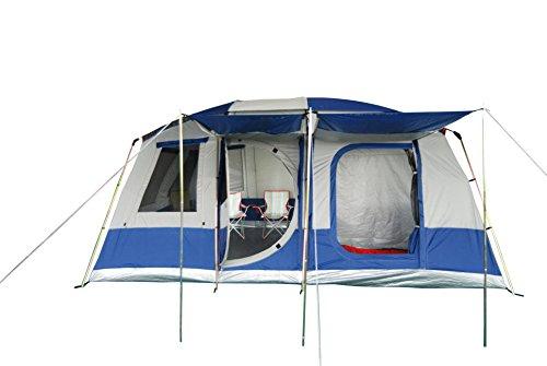 NEUMAYER-ASG-Premium-First-Zelt-COMET-groes-Familien-Zelt-2-3-4-5-6-Personen-Zelt-36m-x-46m-1656qm-Grundflche-optional-abtrennbare-Schlafkabinen-Aufenthaltsraum-200m-Stehhhe-Blitz-Aufbau