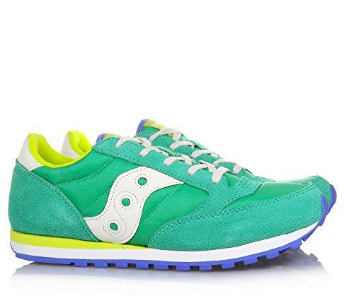 SAUCONY SC55557 JAZZ DBLE HL blau Junge Junge Schuhe Verde smeraldo