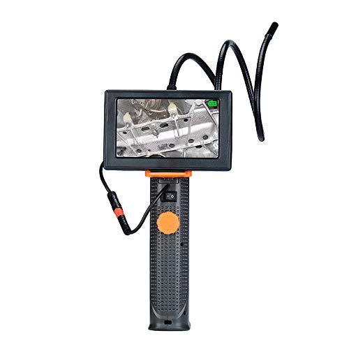 NOBGP Endoscopio Industriale, videocamera Portatile per videoscopio a boroscopio Impermeabile, Cavo semirigido Impermeabile da 6,6FT con Schermo ad Alta Definizione da 4,3 Pollici e 6 luci a LED