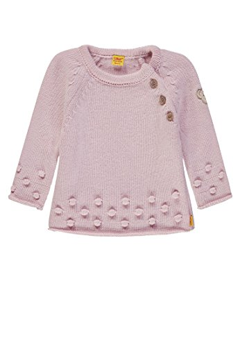 Steiff Baby-Mädchen Pullover, Rosa (Barely Pink|Rose 2560), 74