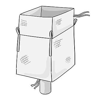 gravasac–Juego de 10bolsas organizadoras grandes de 500 l, con canal de desagüe