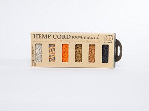hemptique-6-piezas-bobina-de-canamo-de-fuerza-media-mini-en-caja-regalo-pastel-de-zanahoria-multi-co