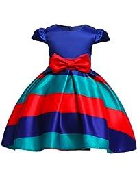 Baoblaze Vestido Formal Ropa Especial para Niña Cumpleaños Desfile Graduación Disfraces Fiesta ...