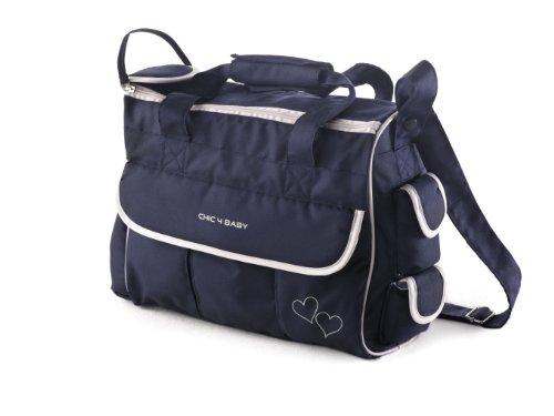 Preisvergleich Produktbild Chic 4 Baby 40559 - Wickeltasche luxury Classic Line navy