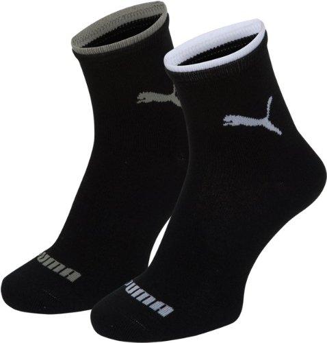 PUMA Damen Socke Lifestyle Short 2P, 200_black, 39-42, 203201001200039