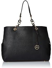 Diana Korr Women Shoulder Bag (Black)(DK37HBLK)