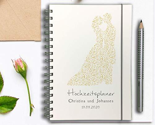 Hochzeitsplaner Deutsch - PERSONALISIERT Traumpaar -
