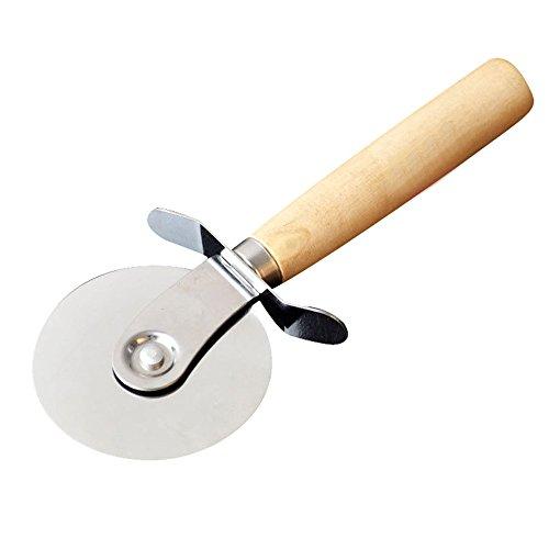 rameng Profile Pizzaschneider Edelstahl Pizza Cutter/Pizza Wheel/Pizzaschneider Küche Pizza Cutter