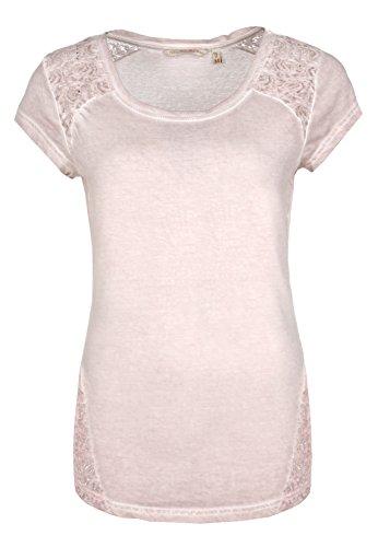 fresh-made-damen-shirt-mit-spitze-einfarbig-frauen-t-shirt-uni-mit-spitzeneinsatz-und-rundhals-aussc
