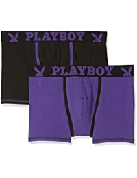 Playboy Classic Cool, Shorty Homme (lot de 2)