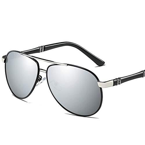 CCMOO Sonnenbrille Männer polarisierte Beschichtung Spiegel Sonnenbrille für intage Fahren Shades-2