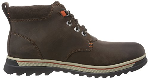 Clarks Ripwayhill Gtx, Bottes homme Marron (Dark Brown Lea)