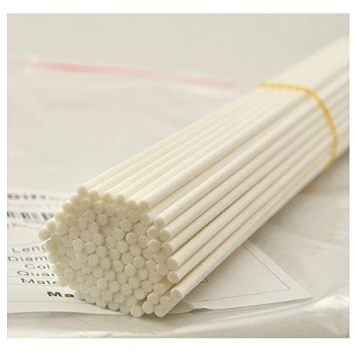 Duft-duft-reed-diffusor (100 Stück Fasern stäbchen Reed Diffusor Stöcke Reed Sticks ätherisches Öl Aroma Diffusor Stöcke 3mm)