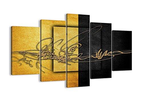 Cuadro sobre lienzo - 5 piezas - Impresión en lienzo - Ancho: 150cm, Altura: 100cm - Foto número 0626 - listo para colgar - en un marco - EA150x100-0626