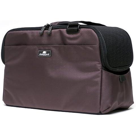 Sleepypod ATOM Dark Chocolate (cioccolato scuro) borsa da trasporto per cani borsa da trasporto per gatti in conformità alle norme IATA