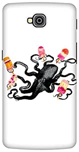 The Racoon Grip Ice Cream Monster hard plastic printed back case / cover for LG G Pro Lite