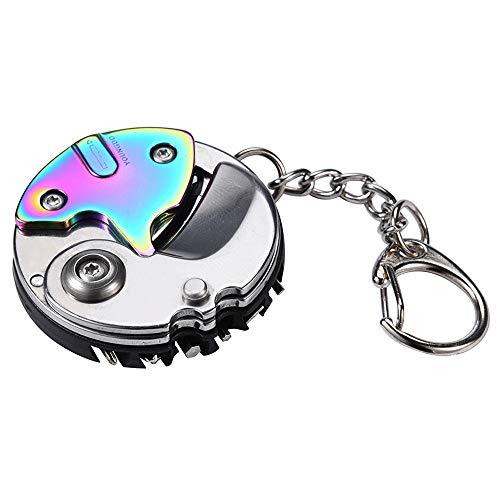Igemy Faltschrauber EDC Multifunktions Gadget Uhr Brillengestell Wartung (Mehrfarbig)