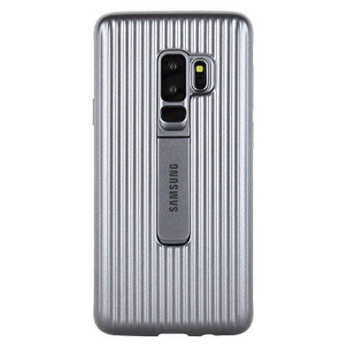 Samsung Protective Standing Cover (EF-RG965) für das Galaxy S9+, Silver