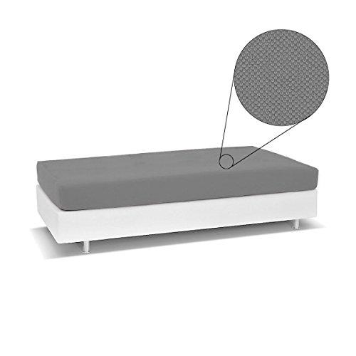 Copriletto Living Genius Biancaluna per divano letto singolo Antimacchia R454 SASSI