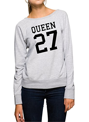 Queen 27 Sweater Girls Grey-XL