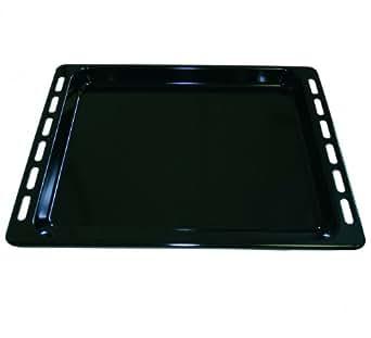"""Plaque à gâteaux / tôle à pâtisserie émaillée (OT)27mm, compatible avec fours de nombreuses marques // 445 x 375 x 27mm (voir """"Description du produit"""")"""