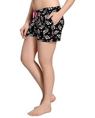 AV2 Women Cotton Printed Shorts