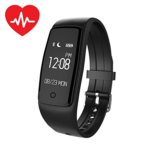 XCSOURCE® Bluetooth S1 Smart Armbanduhr Herzfrequenz Monitor Sportband Wasserdichte Fitness Aktivität Tracker Kalorienzähler AC867
