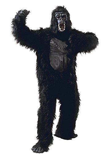 Erwachsene Größe Gummi Brust Gorilla Kostüm