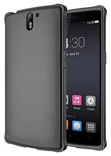 Diztronic Ultra TPU Case for OnePlus One - Full Matte Charcoal Gray