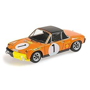 Minichamps - 400706501 - Vehículos en Miniatura - Modelo para la Escala - Porsche 914/6 - Maratón Ganador de la Ruta 1970 - Escala 1/43