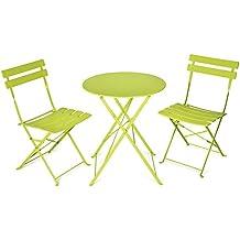 Amazon.fr : Salon De Jardin Vert