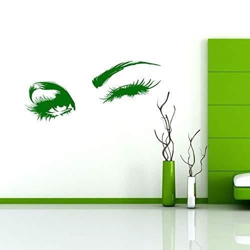 Charming augen vinyl wandtattoo wohnkultur wohnzimmer schlafzimmer kunstwand entfernbare wandaufkleber 58 * 189 cm