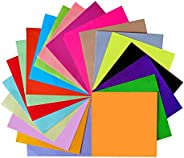 Exceart 1000Pcs Construction Paper for Kids Origami Paper 10 Colors DIY Handmade Folding Paper for Classroom Home