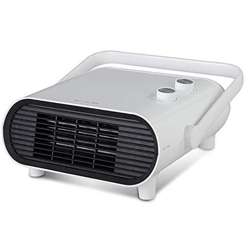 Calentador Espacial, Mini Ventilador Calefactor Personal, Viento Cálido / Natural Para Baño, Oficina Y Hogar, 3 Modos, Elemento Calefactor De Cerámica PTC, Colocación / Montaje En Pared, Termostato.