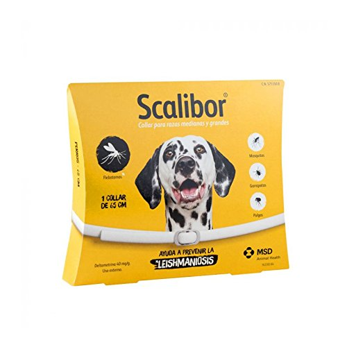 Scalibor - Zecken Halsband für große Hunde (1 Halsband 65 cm)