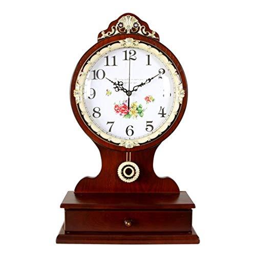 Jbp max orologio da giardino staffa orologio in legno massello ornamenti soggiorno antiquariato orologi moda creativo silenzioso orologio al quarzo-jbp13,a