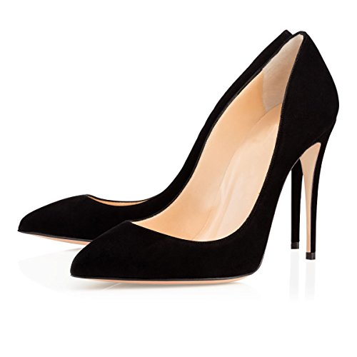 EDEFS - Scarpe col tacco donna - Classico Scarpe col Tacco - Sexy High Heels Black