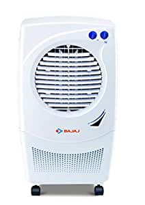 Bajaj Platini PX97 Torque 36-Litres Personal Air Cooler (White)- for Medium Room