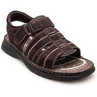 Zerimar Zapato Estilo Casual con Elástico Fabricado EN Piel Color marronTalla 44 XSVoMY9